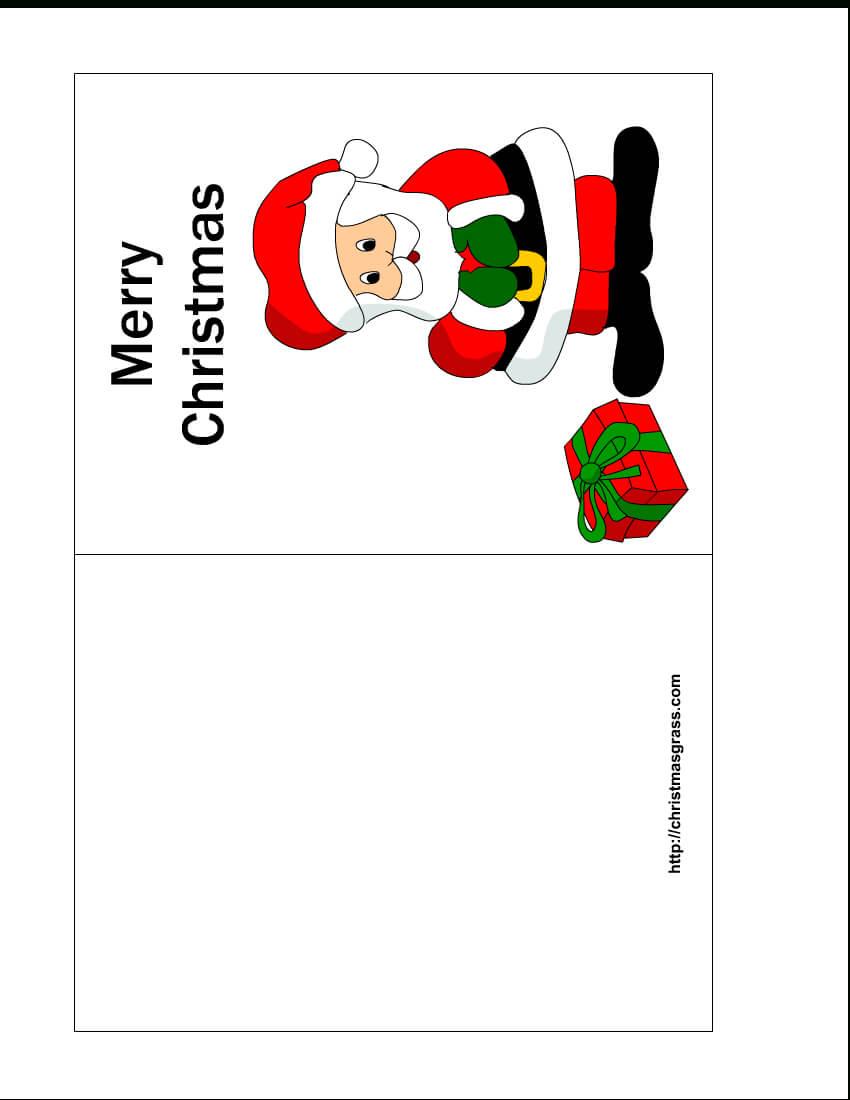 Free Printable Christmas Cards   Free Printable Christmas Regarding Printable Holiday Card Templates