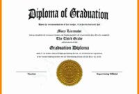 Free Printable Ged Templates Or 9 High School Diploma with regard to Ged Certificate Template