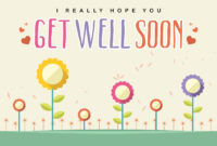 Free Printable Get Well Soon Cards   Free Printable for Get Well Soon Card Template