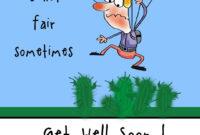 Free Printable Get Well Soon Greeting Card   Get Well Soon intended for Get Well Soon Card Template