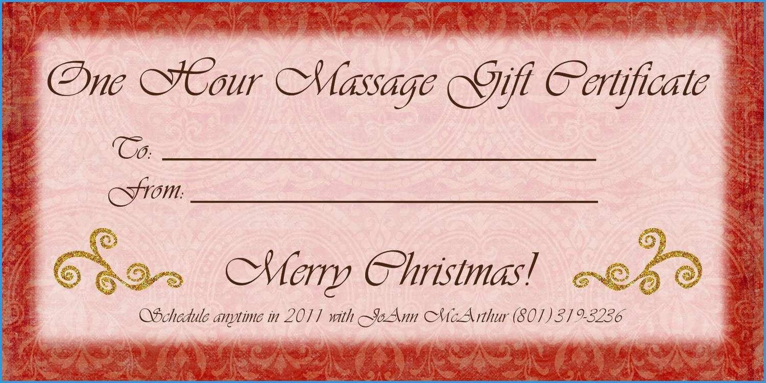 Free Printable Gift Certificates Pdf For Photography Canada pertaining to Massage Gift Certificate Template Free Printable
