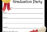 Free Printable Graduation Party Invitations | Free Printable pertaining to Free Graduation Invitation Templates For Word