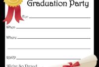 Free Printable Graduation Party Invitations | Free Printable with regard to Graduation Party Invitation Templates Free Word