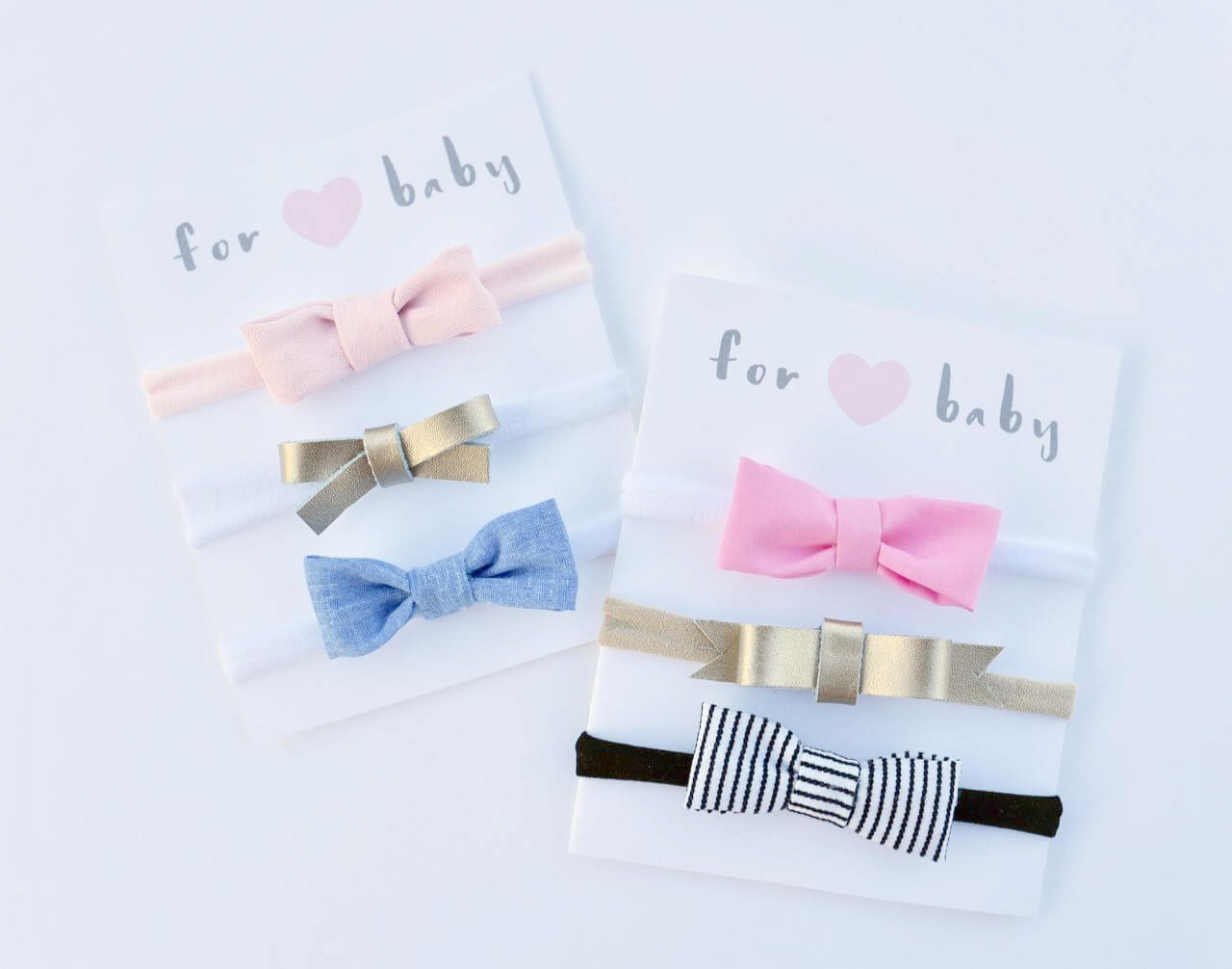 Free Printable Hair Bow Cards For Diy Hair Bows And for Headband Card Template
