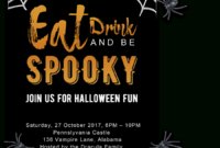 Free Printable Halloween Party Invitations 2018 ✅ [ Template] inside Free Halloween Templates For Word