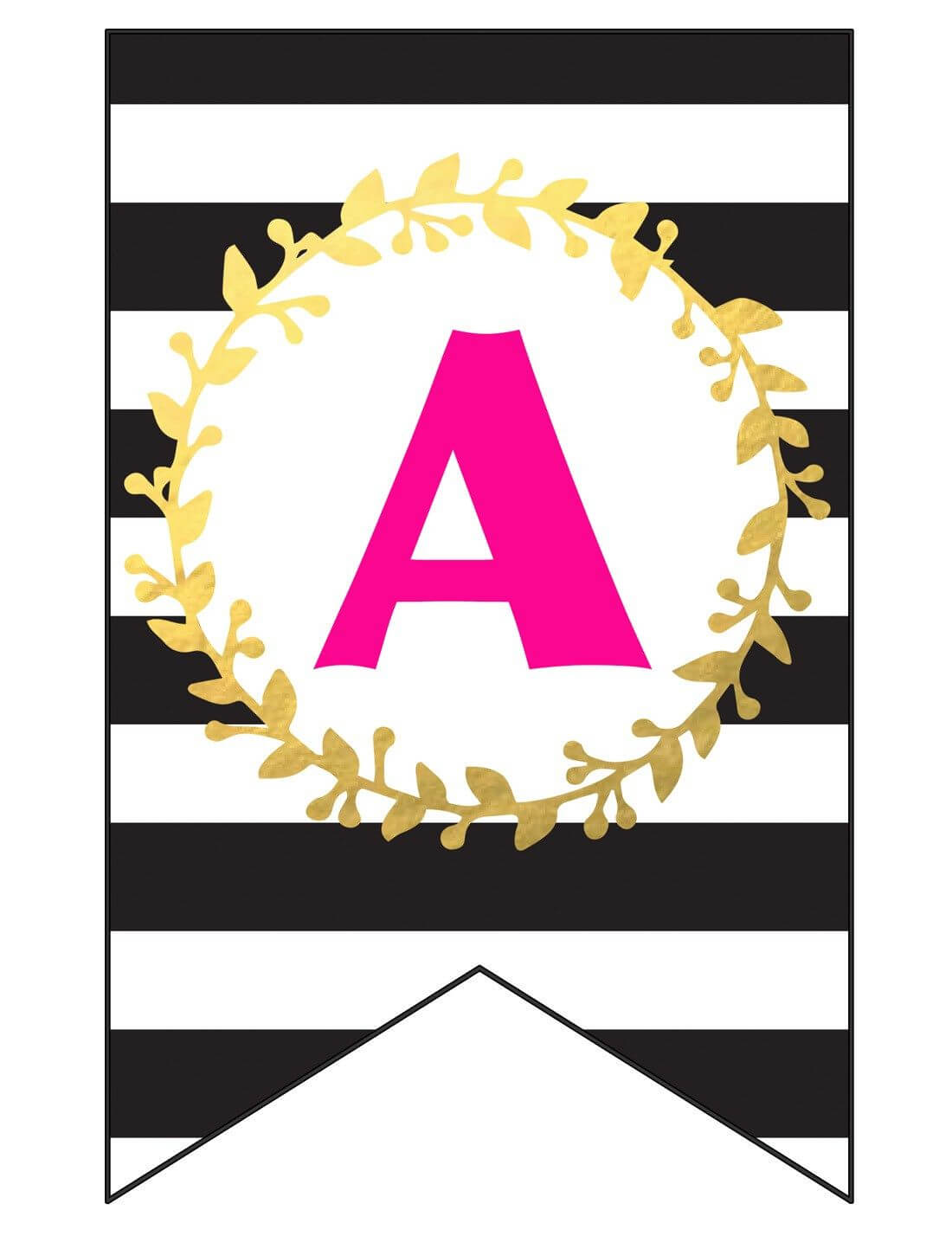 Free Printable Happy Birthday Banner And Alphabet | Happy inside Free Printable Party Banner Templates