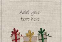 Free Printable Holiday Gift Certificates Christmas Vouchers throughout Free Christmas Gift Certificate Templates