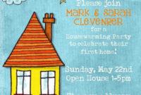Free Printable Housewarming Invitation Wording Regarding Free Housewarming Invitation Card Template