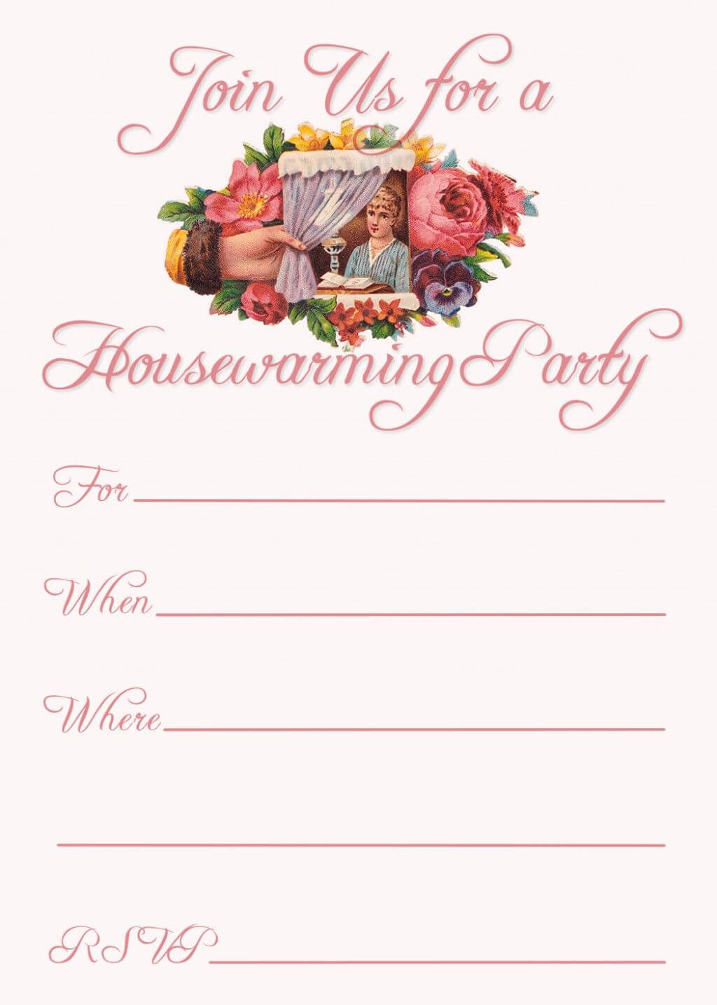 Free Printable Housewarming Party Invitations | Housewarming Within Free Housewarming Invitation Card Template