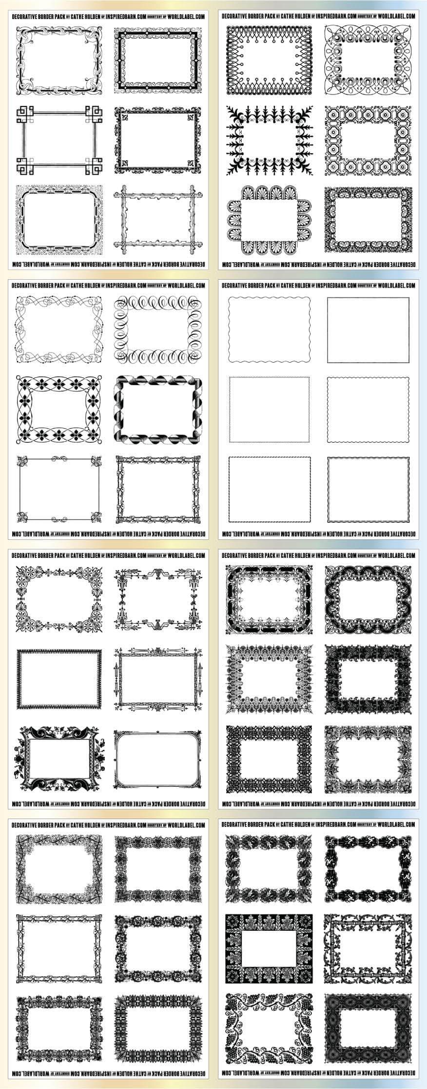 Free Printable Labels & Templates, Label Design @worldlabel intended for Word Label Template 8 Per Sheet