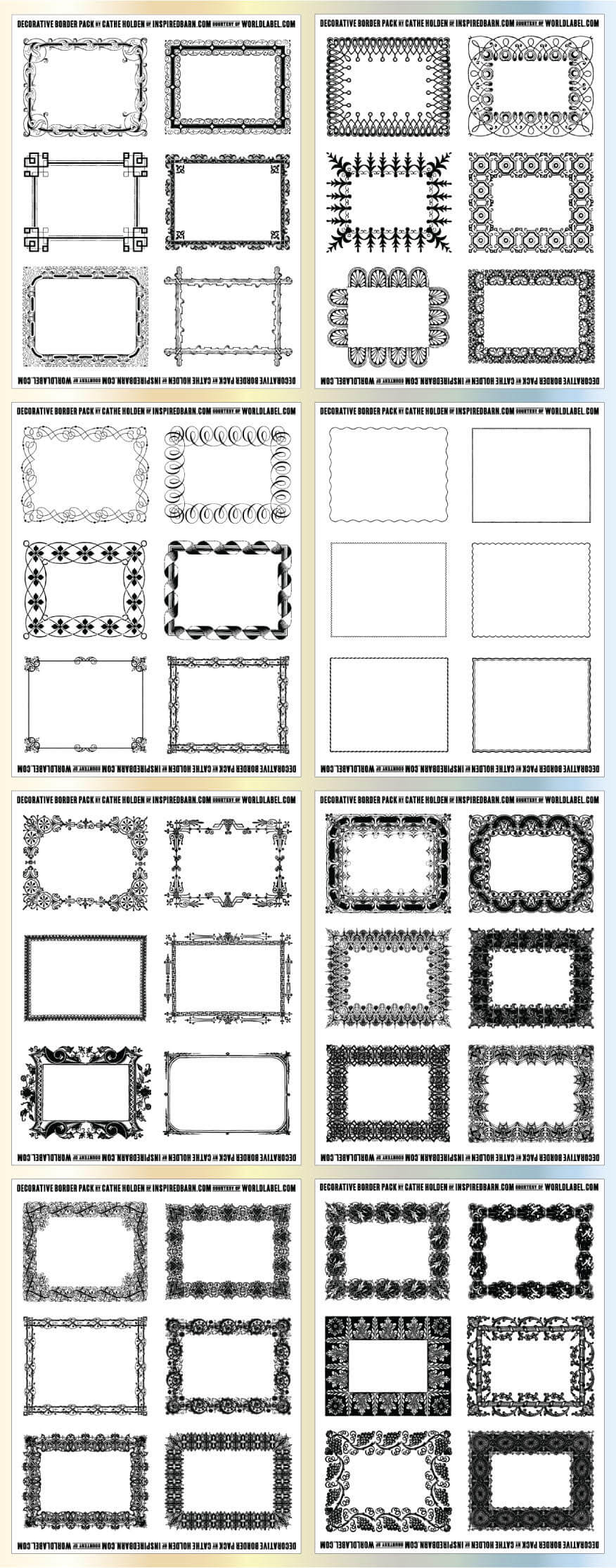 Free Printable Labels & Templates, Label Design @worldlabel with Labels 8 Per Sheet Template Word