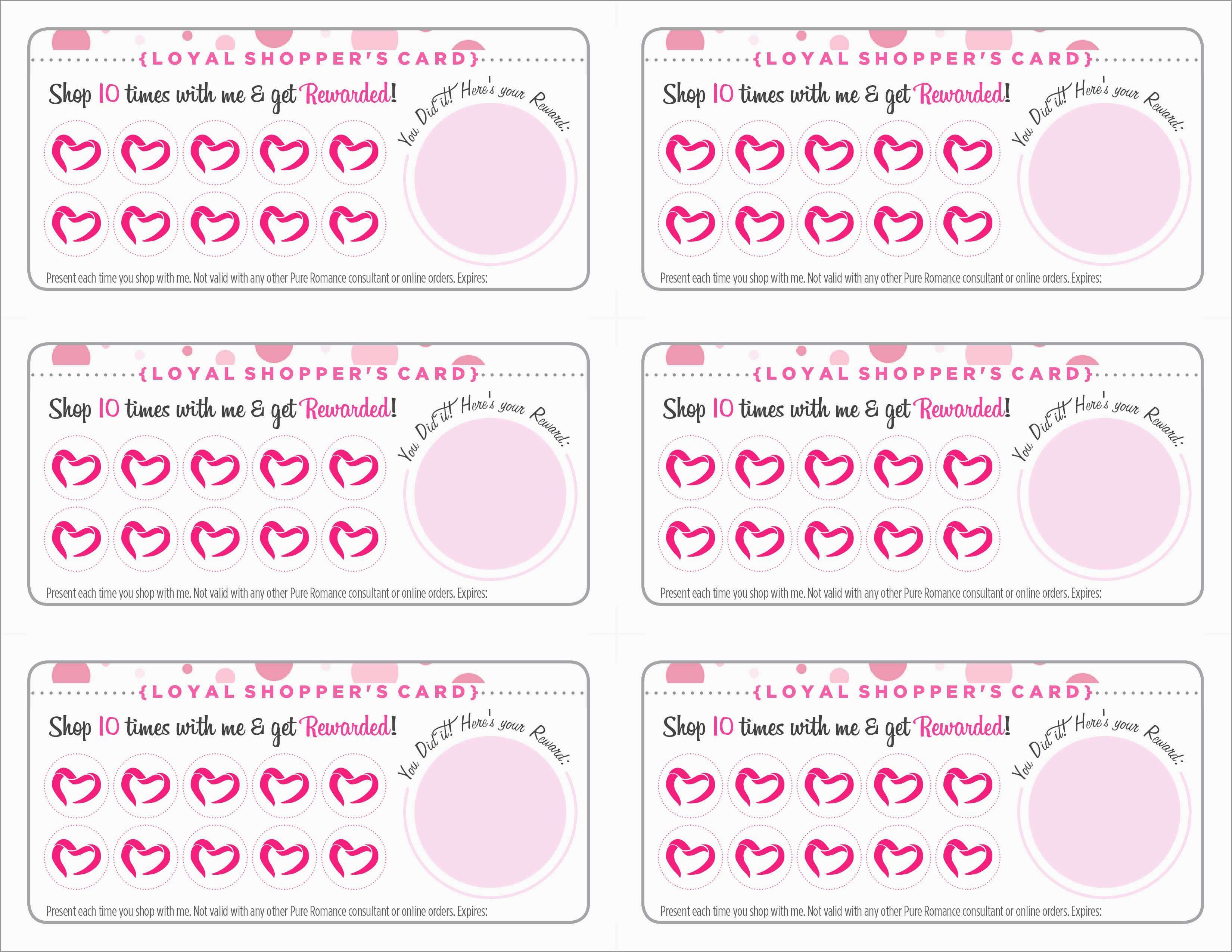 Free Printable Loyalty Card Template Fabulous 10 1 Free with regard to Customer Loyalty Card Template Free