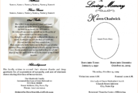 Free Printable Obituary Templates – Teplates For Every Day with Fill In The Blank Obituary Template