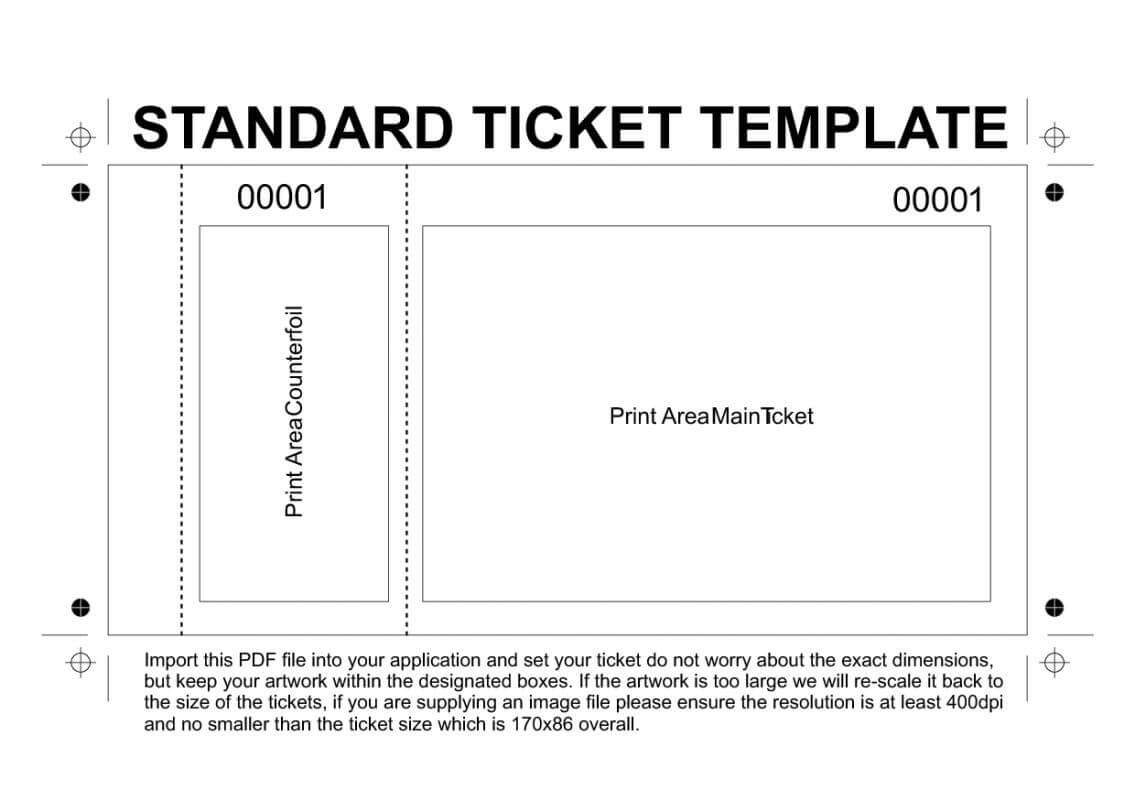 Free Printable Raffle Tickets Template | Template Business throughout Free Raffle Ticket Template For Word