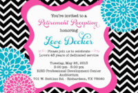 Free Printable Retirement Cards Party Invitations Templates pertaining to Retirement Card Template