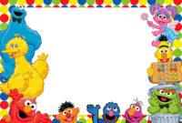 Free Printable Sesame Street Invitation | Sammy's 1St inside Elmo Birthday Card Template