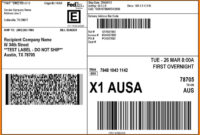 Free Printable Shipping Label Templates Online Template with regard to Fedex Label Template Word
