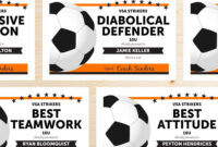 Free Printable Soccer Certificate Templates Editable Award regarding Soccer Certificate Template