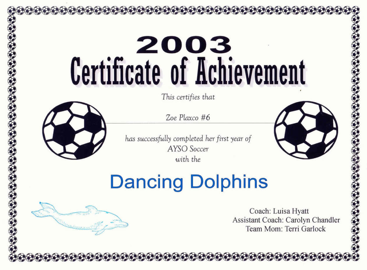 Free Printable Soccer Certificate Templates Editable Kiddo with regard to Soccer Certificate Templates For Word