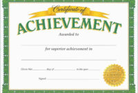 Free Printable Soccer Certificate Templates Of Achievement within Certificate Of Accomplishment Template Free