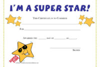 Free Printable Student Award  | Award Certificates In Free Printable Certificate Templates For Kids