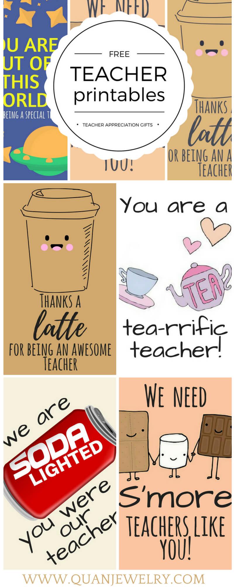 Free Printable Teacher Appreciation Thank You Cards with regard to Thank You Card For Teacher Template