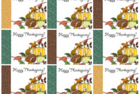 Free Printable Thanksgiving Place Cards — Also Great For with regard to Thanksgiving Place Cards Template
