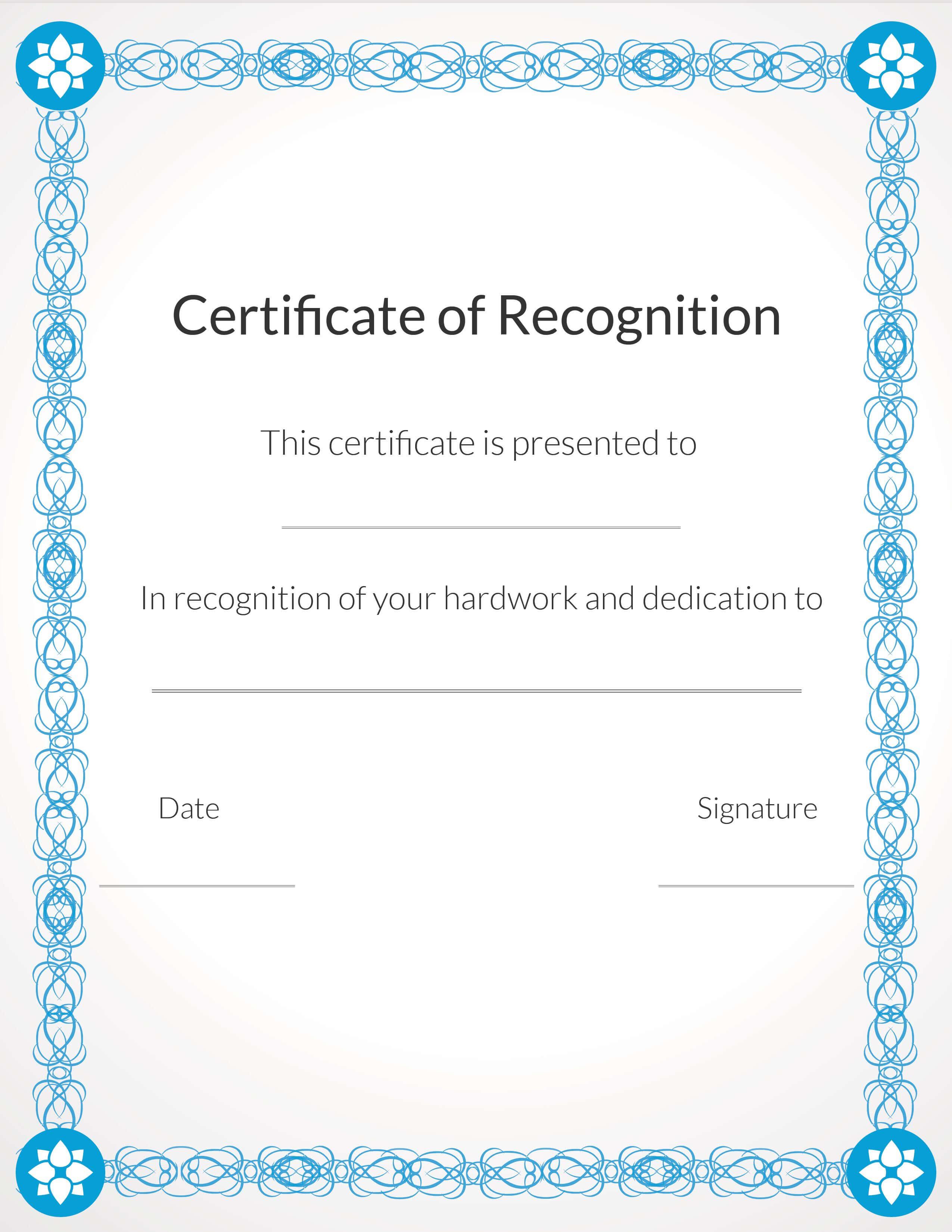 Free, Printable Volunteer Recognition And Appreciation in Volunteer Certificate Template