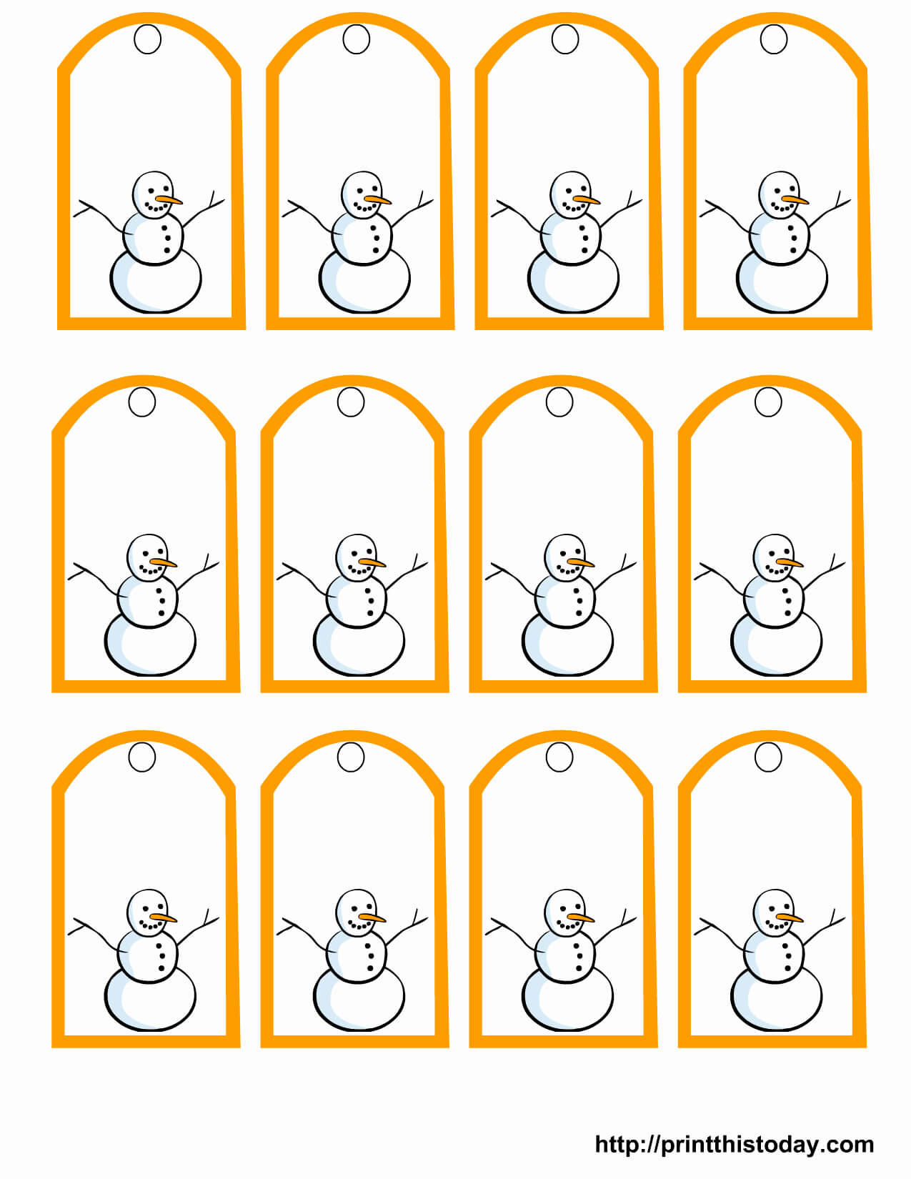 Free Printables Thank You Tags Printable Gift Templates with Free Gift Tag Templates For Word