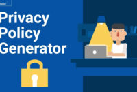 Free Privacy Policy Generator: Gdpr + Caloppa – Termsfeed within Credit Card Privacy Policy Template