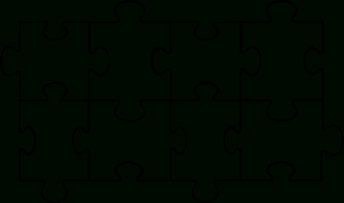 Free Puzzle Pieces Template, Download Free Clip Art, Free with regard to Jigsaw Puzzle Template For Word