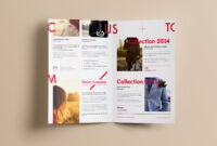 Free Realistic Bi-Fold Brochure Mockup Psd – Good Mockups regarding Two Fold Brochure Template Psd