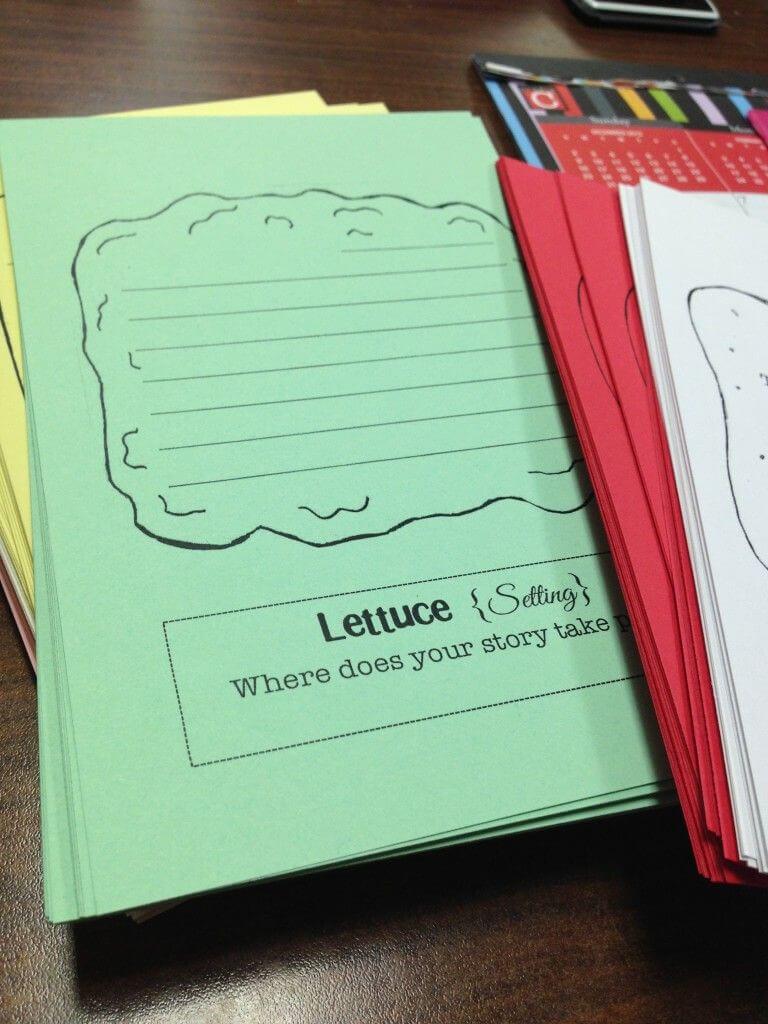 Free Sandwich Book Report Shape Printables. It Has The Bread Pertaining To Sandwich Book Report Template