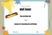 Free School Certificates & Awards with regard to Best Teacher Certificate Templates Free