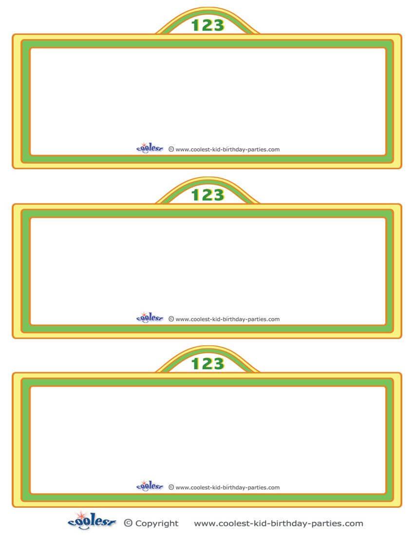 Free Sesame Street Templates |  Printable Sesame Street With Regard To Sesame Street Banner Template