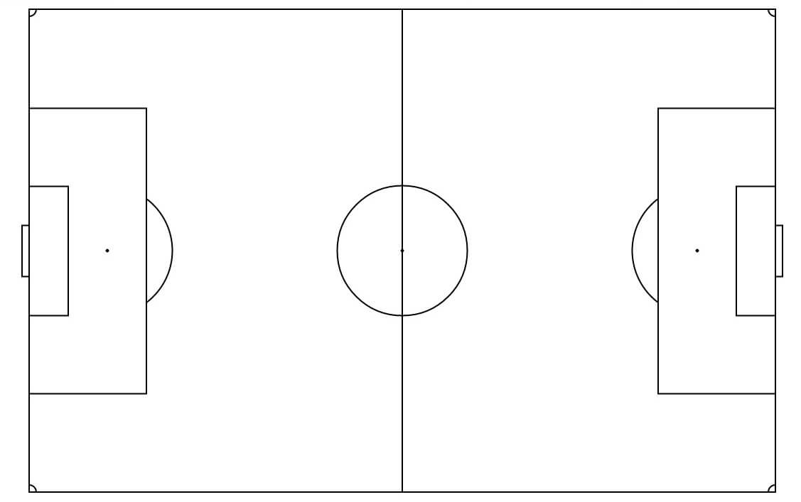 Free Soccer Field Template, Download Free Clip Art, Free pertaining to Blank Football Field Template