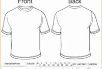 Free T Shirt Order Form Template Word | Azərbaycan Dillər pertaining to Blank T Shirt Order Form Template