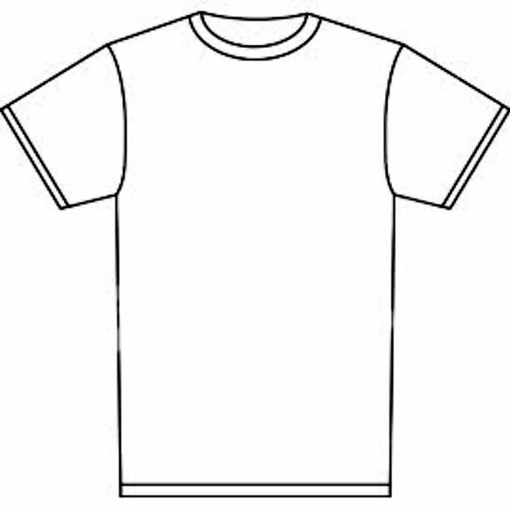 Free T Shirt Template Printable, Download Free Clip Art throughout Blank Tshirt Template Printable