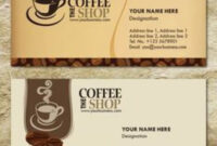 Free Templates Business Card For Coffee Shop – Google intended for Coffee Business Card Template Free