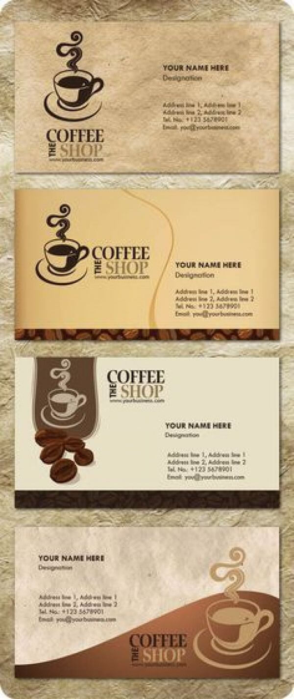 Free Templates Business Card For Coffee Shop - Google intended for Coffee Business Card Template Free