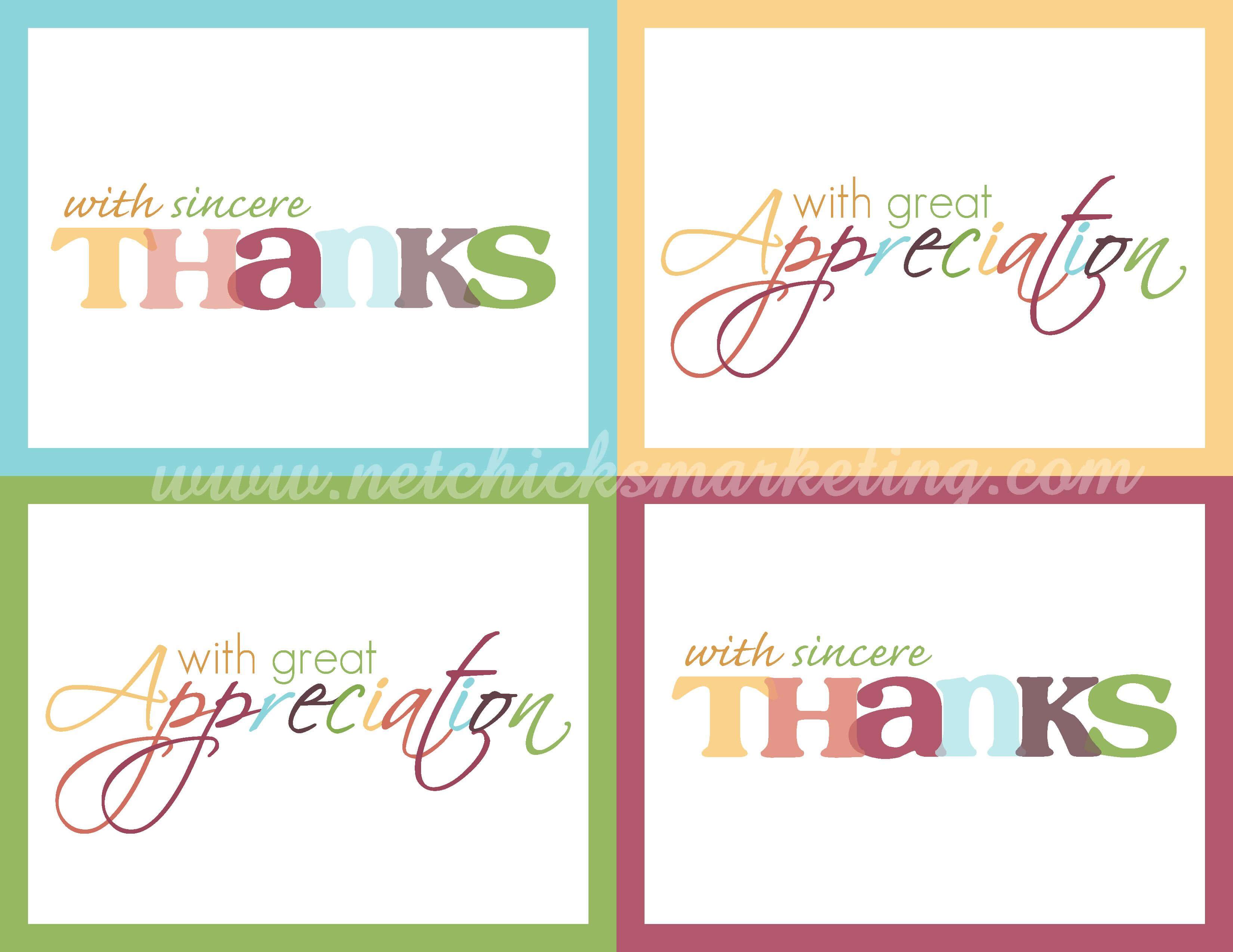 Free Thank You Cards #printable | Printable Thank You Cards With Free Printable Thank You Card Template
