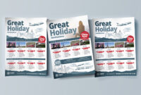 Free Travel Agency Poster & Brochure Template In Psd, Ai for Product Brochure Template Free