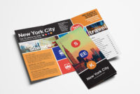 Free Travel Trifold Brochure Template For Photoshop inside Travel Guide Brochure Template