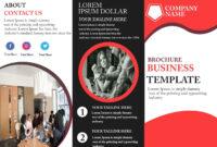 Free Tri-Fold Brochure Template – Download Free Tri-Fold pertaining to Free Three Fold Brochure Template