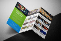 Free Tri-Fold Brochure Template For Events & Festivals – Psd throughout Tri Fold Brochure Template Illustrator Free