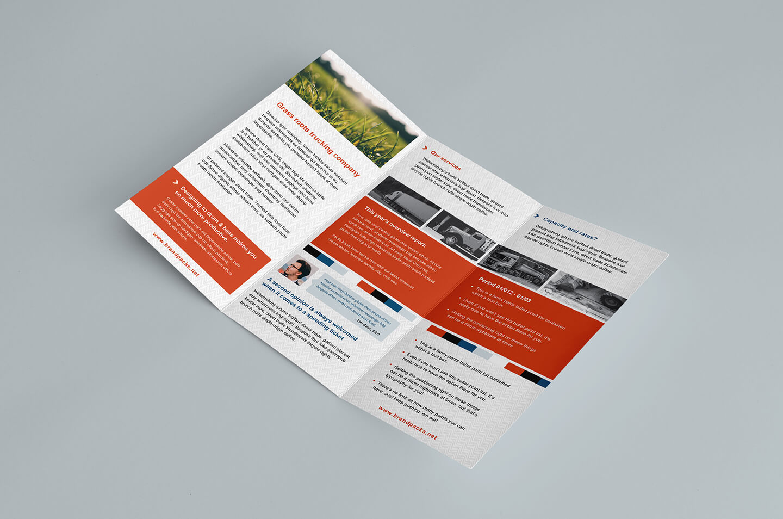 Free Trifold Brochure Template In Psd, Ai & Vector - Brandpacks inside Tri Fold Brochure Ai Template
