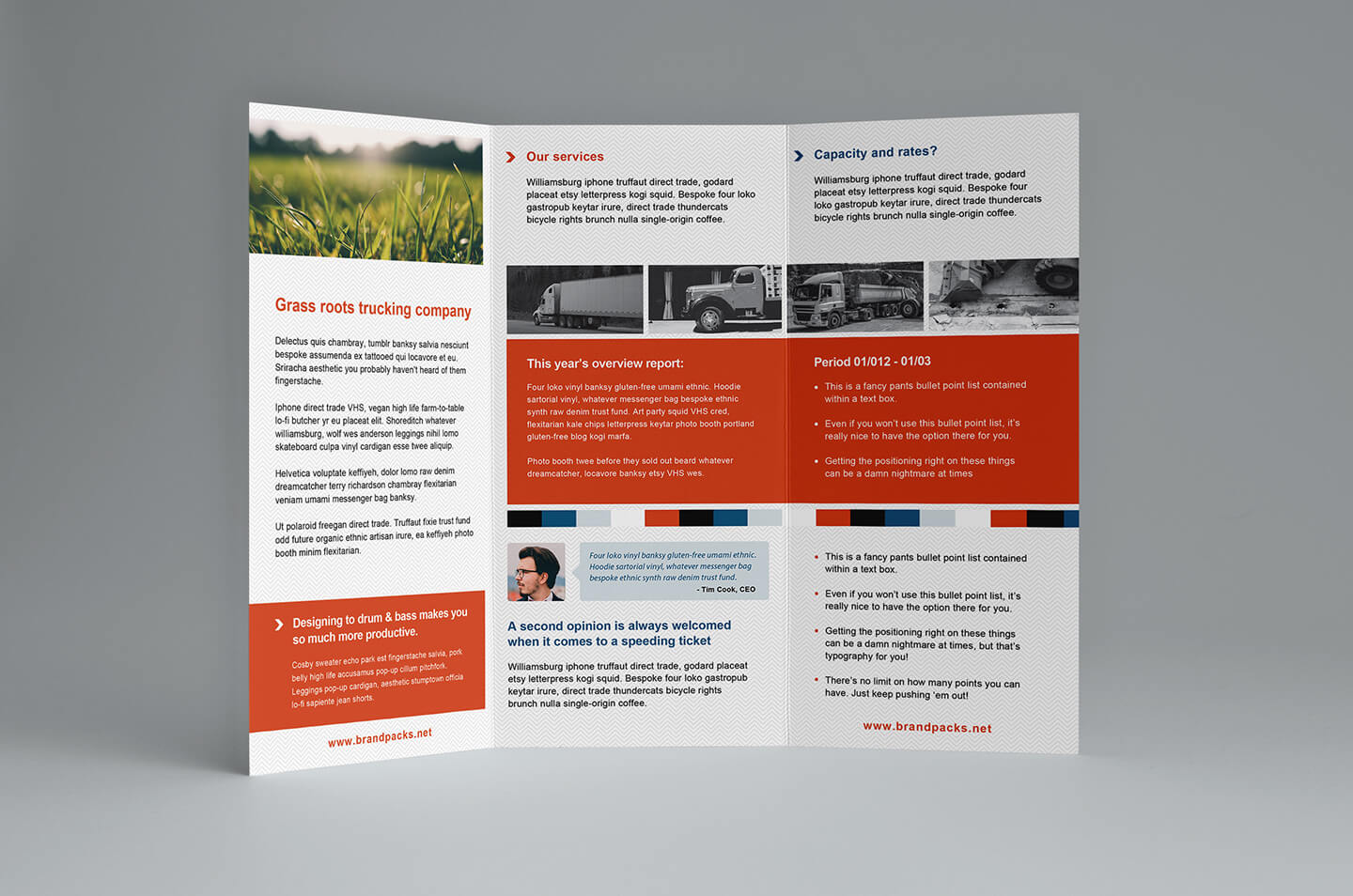 Free Trifold Brochure Template In Psd, Ai & Vector - Brandpacks with Free Illustrator Brochure Templates Download