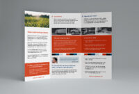 Free Trifold Brochure Template In Psd, Ai & Vector – Brandpacks with Tri Fold Brochure Ai Template