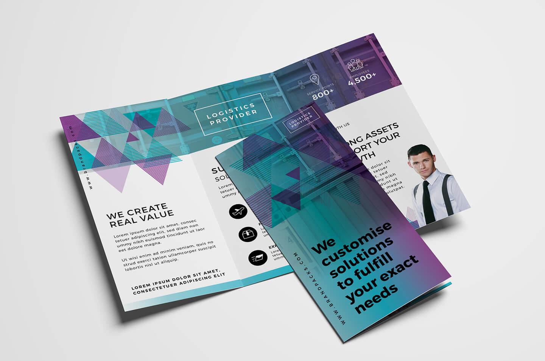 Free Trifold Brochure Template Vol.2 In Psd, Ai & Vector Intended For 2 Fold Brochure Template Free