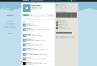 Free Twitter Gui Psd — Smashing Magazine intended for Blank Twitter Profile Template